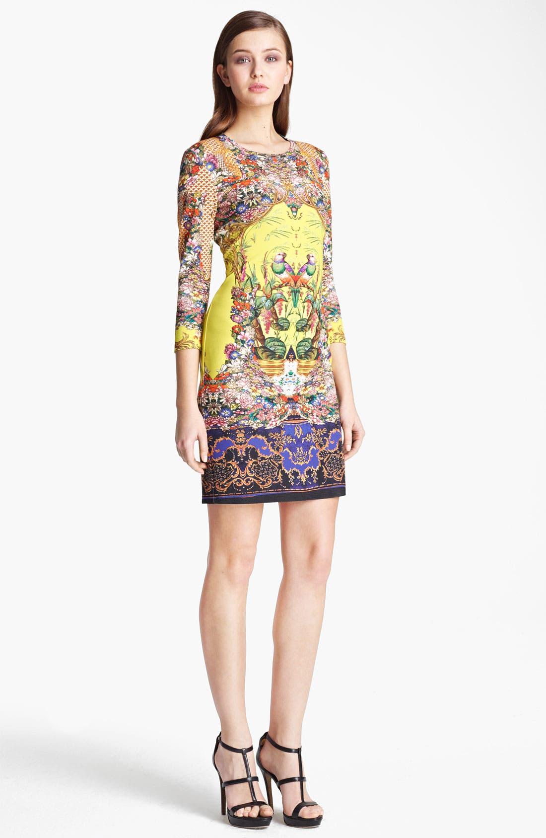 Main Image - Roberto Cavalli Print Jersey Dress