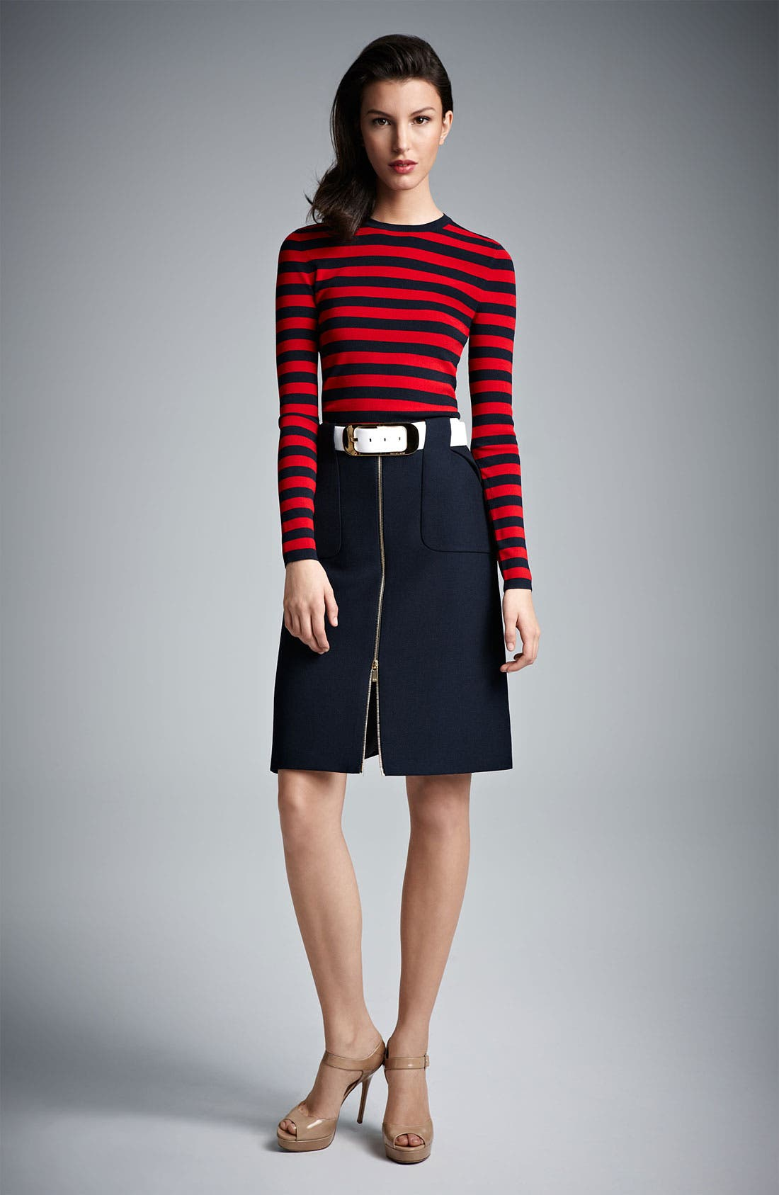 Alternate Image 4  - Michael Kors Gabardine Skirt