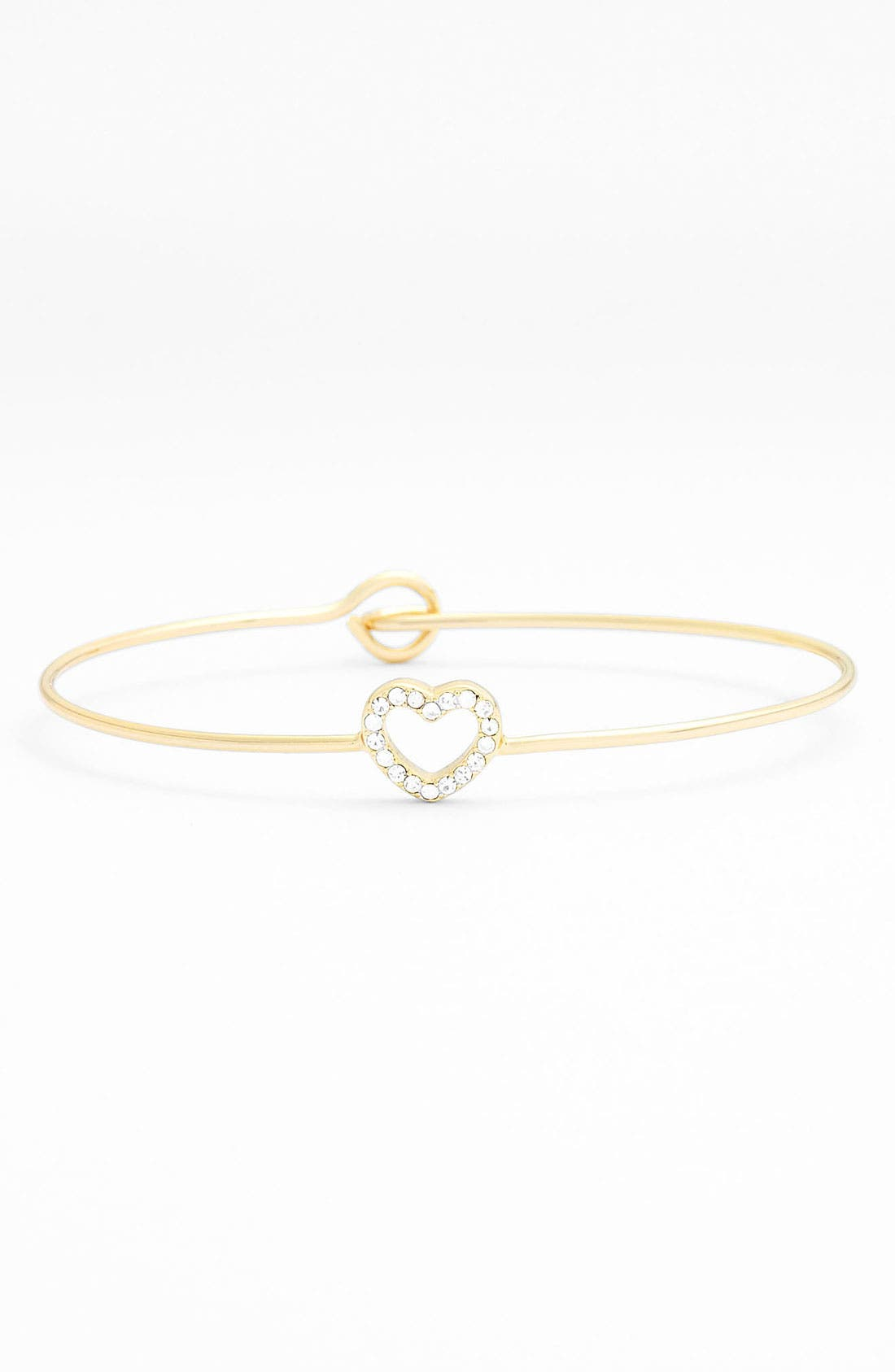 Alternate Image 1 Selected - Ariella Collection Pavé Station Bangle