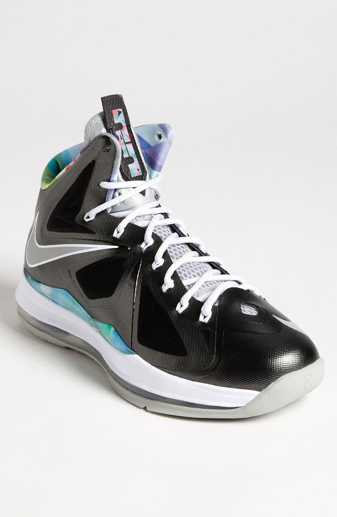 Alternate Image 1 Selected - Nike 'LeBron X' Basketball Shoe (Men)