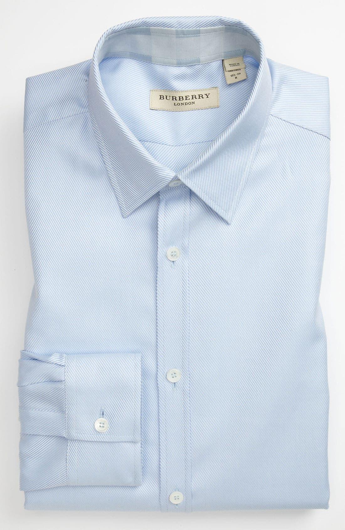 Main Image - Burberry London Tailored Fit Dress Shirt