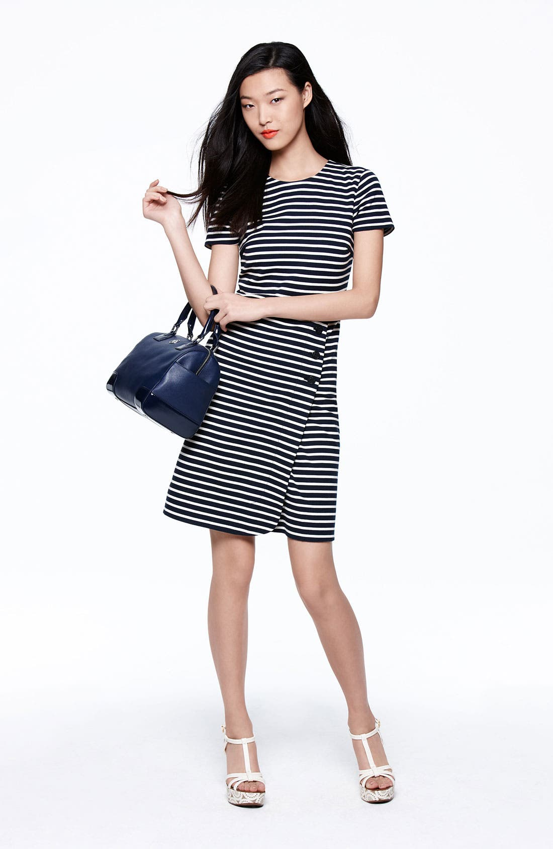 Alternate Image 4  - Tory Burch 'Kamilla' Cotton Shift Dress