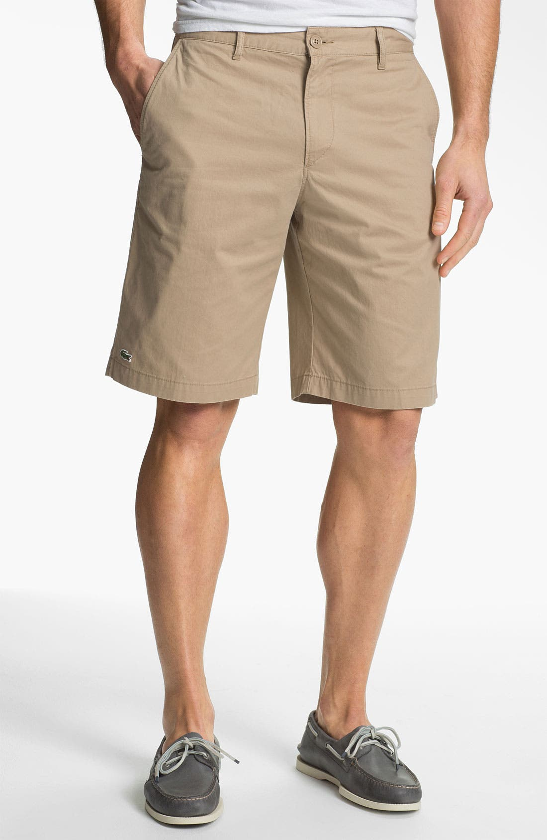 Main Image - Lacoste Relaxed Fit Bermuda Shorts