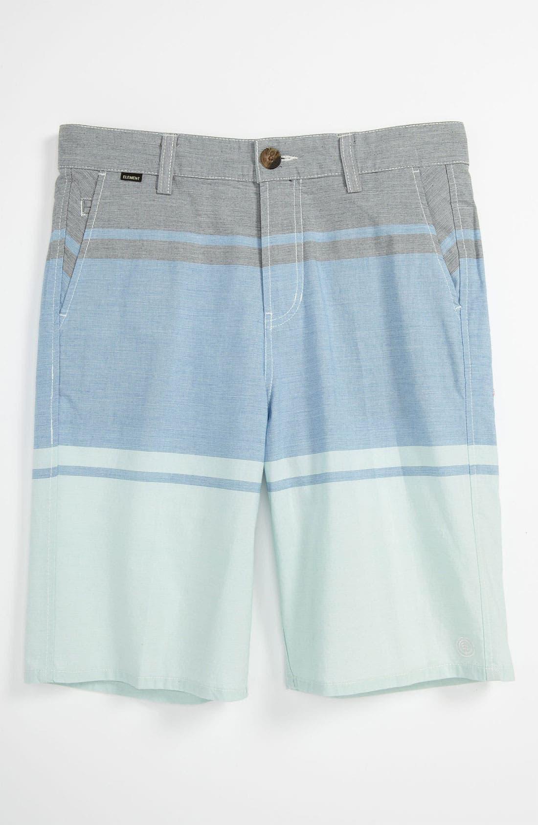 Alternate Image 1 Selected - Element 'Alex' Yarn Dyed Shorts (Big Boys)