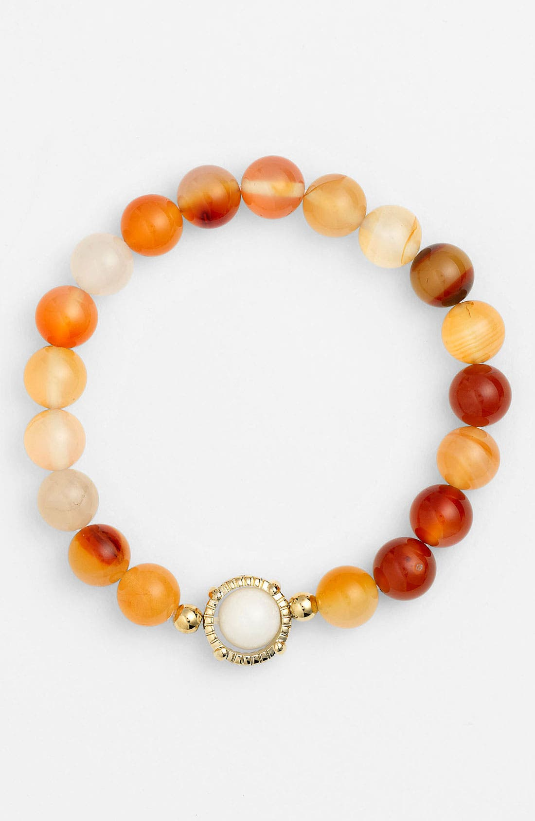Main Image - Cara Beaded Stretch Bracelet