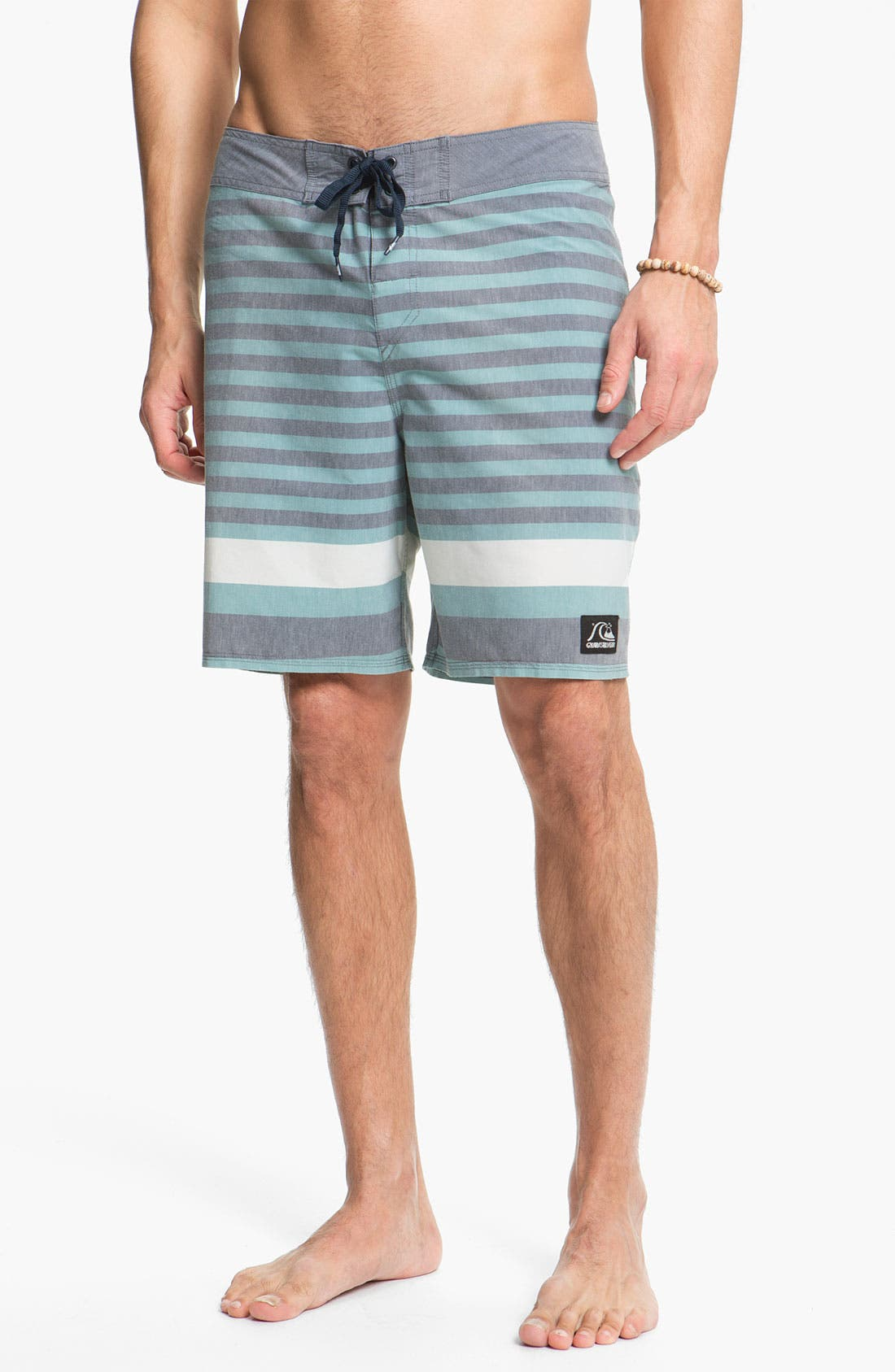 Alternate Image 4  - Quiksilver 'Biarritz' Stripe Board Shorts