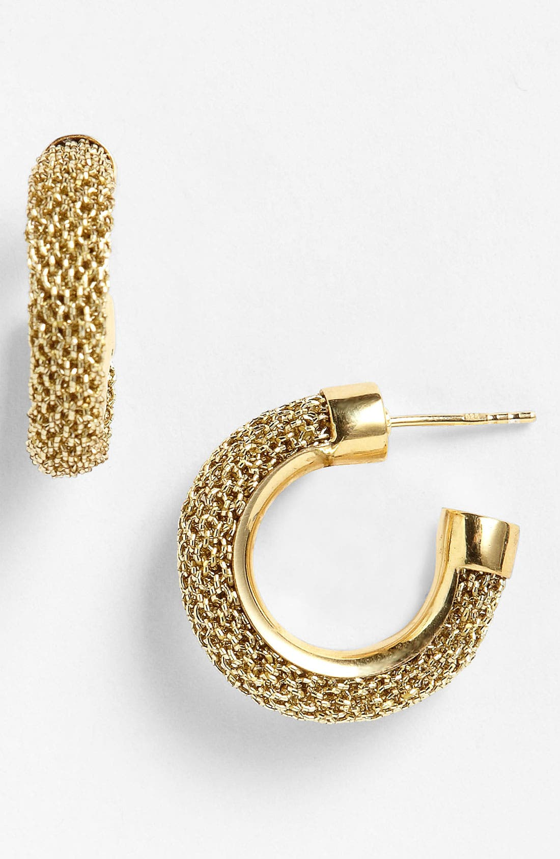 Alternate Image 1 Selected - Adami & Martucci 'Mesh' Mini Hoop Earrings