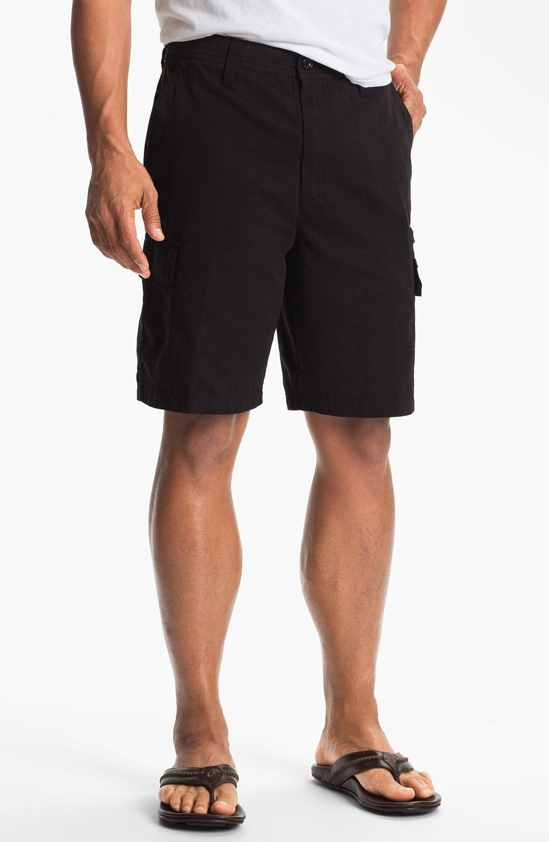 Alternate Image 1 Selected - Quiksilver Waterman Collection 'Maldive' Cargo Shorts