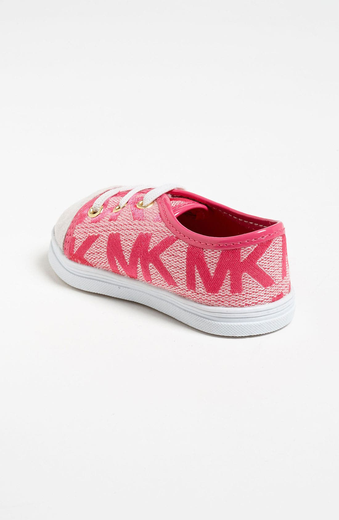 Alternate Image 2  - MICHAEL Michael Kors 'Baby Monogram' Crib Shoe (Baby)