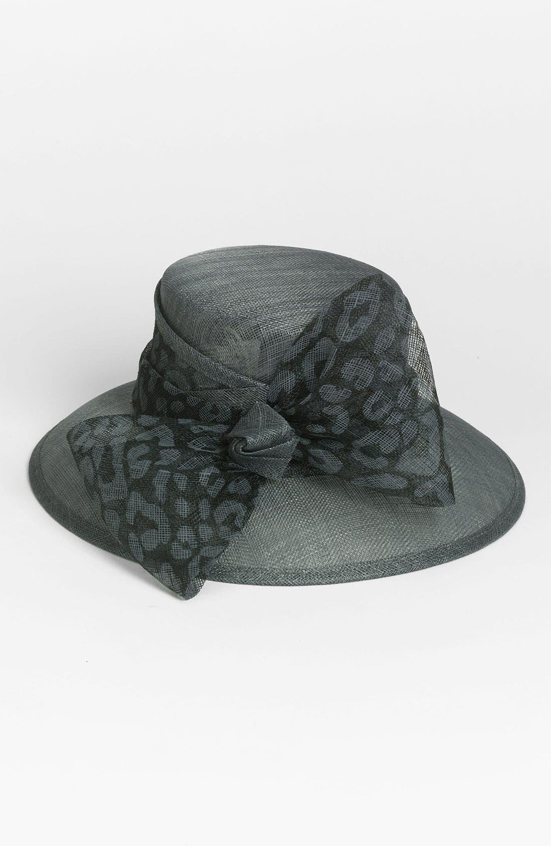 Main Image - August Hat 'Seraphinite' Down Brim Derby Hat