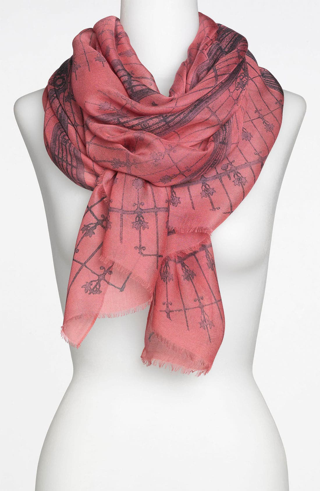 Alternate Image 1 Selected - Nordstrom 'Cupola Print' Scarf
