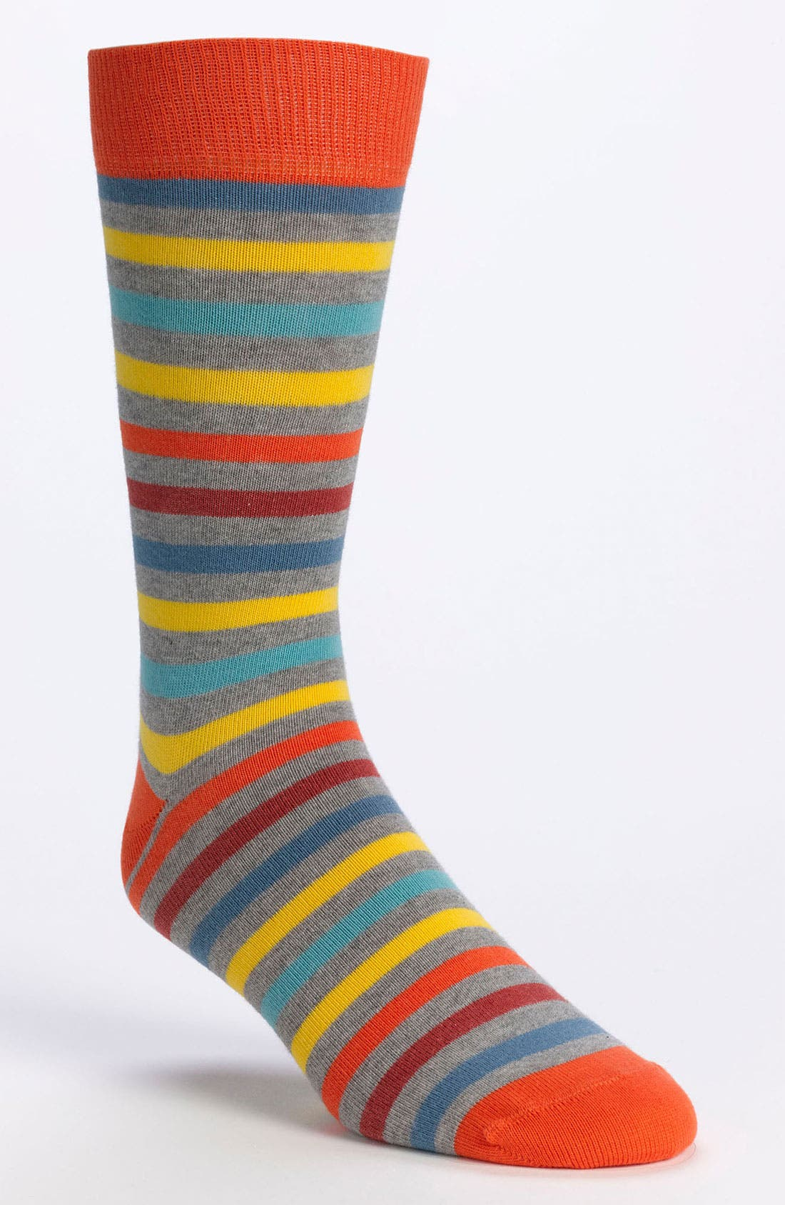 Alternate Image 1 Selected - Pact Stripe Pattern Socks