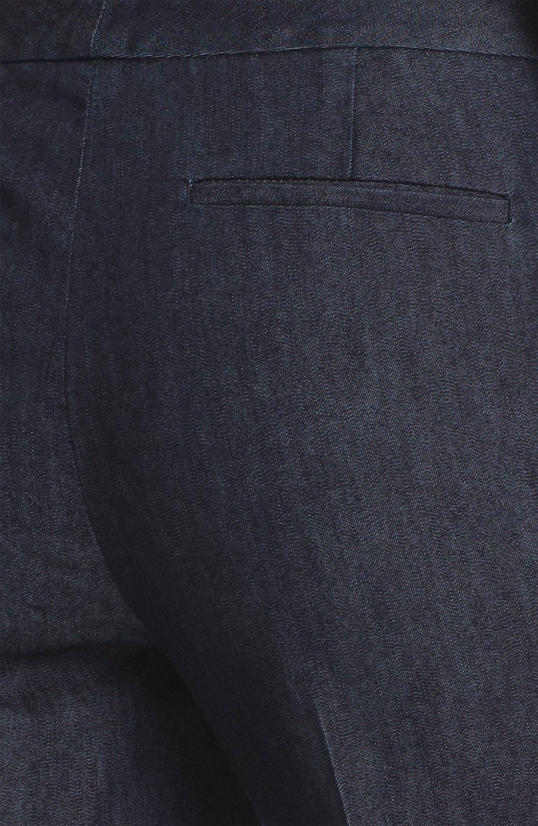 Alternate Image 3  - Halogen® 'Taylor' Curvy Fit Crop Pants