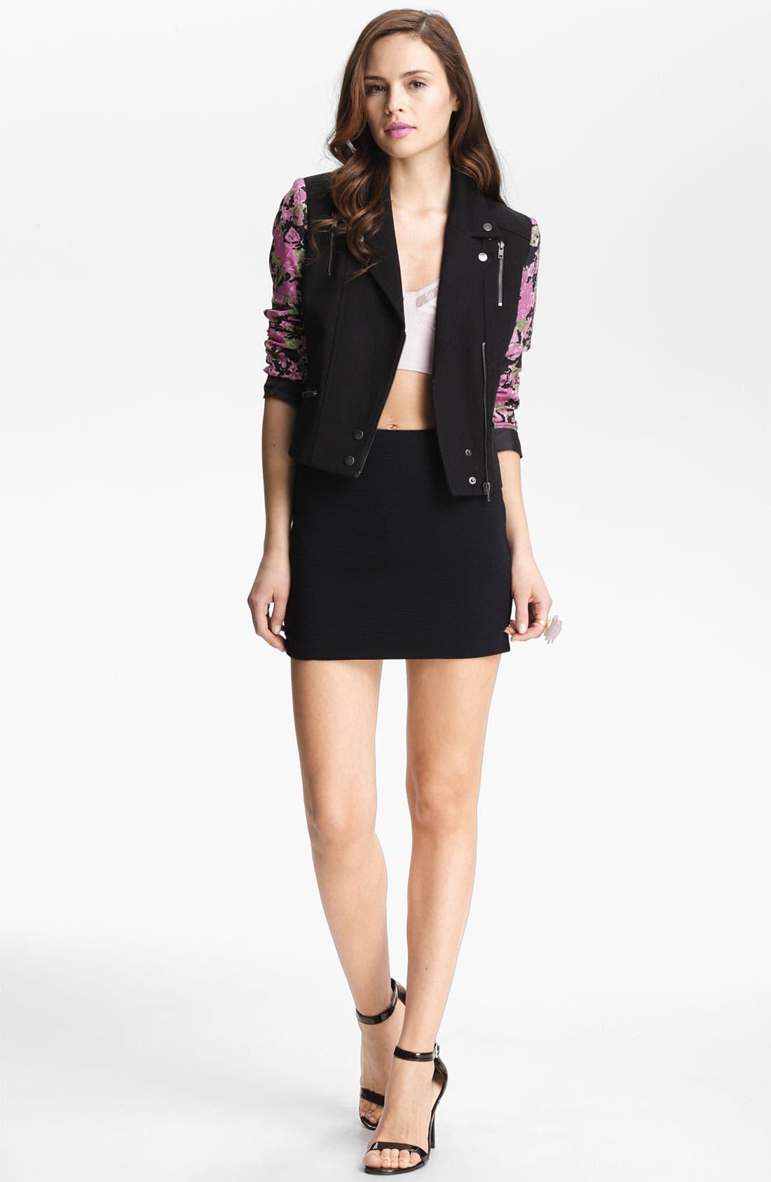 Alternate Image 2  - BB Dakota Ribbed Skirt