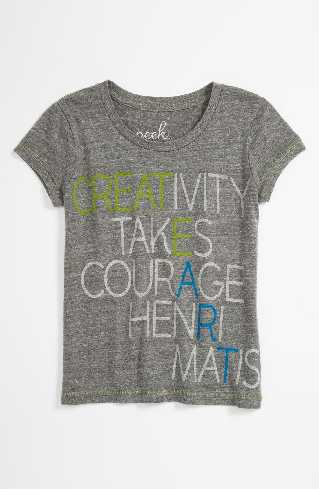 Main Image - Peek 'Creativity' Tee (Toddler Girls, Little Girls & Big Girls)