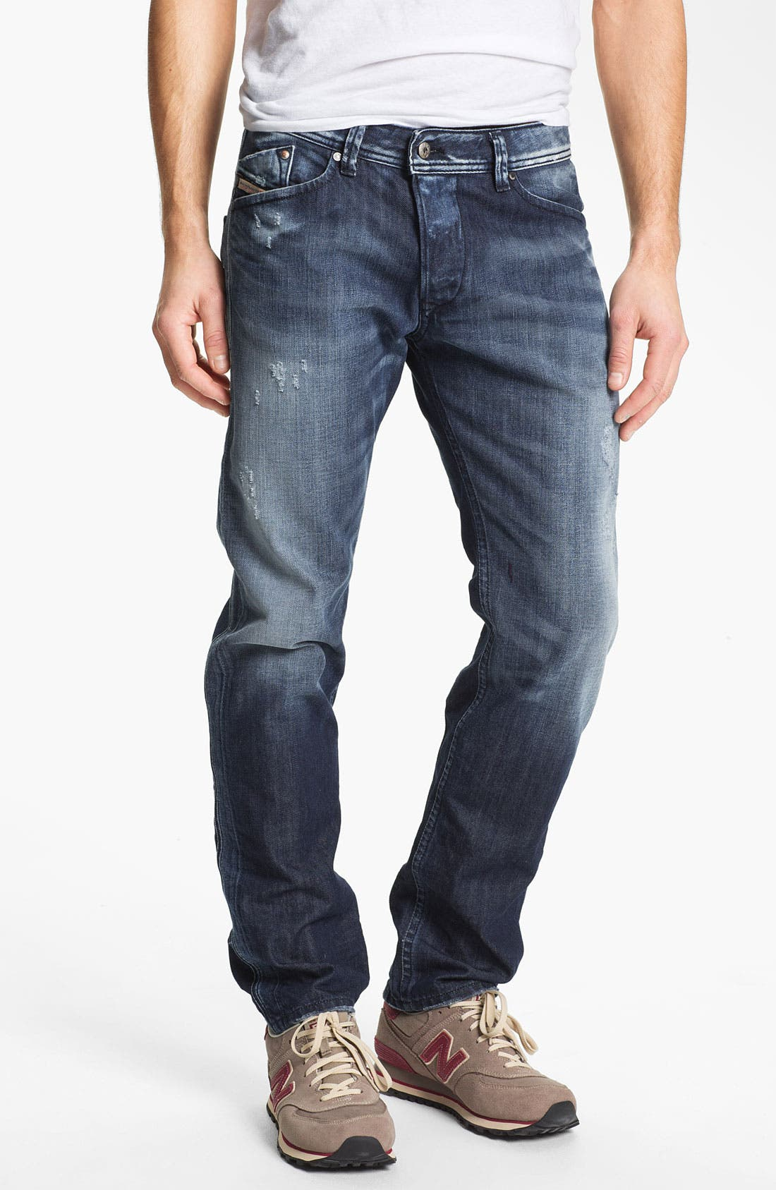 Alternate Image 2  - DIESEL® 'Darron' Slim Fit Jeans (0810L)