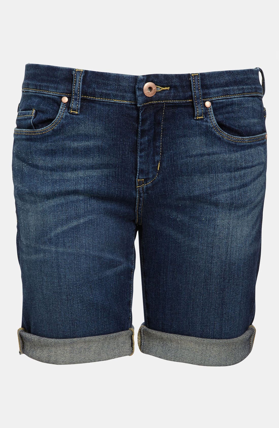 Main Image - BLANKNYC 'Roll Up' Jean Shorts