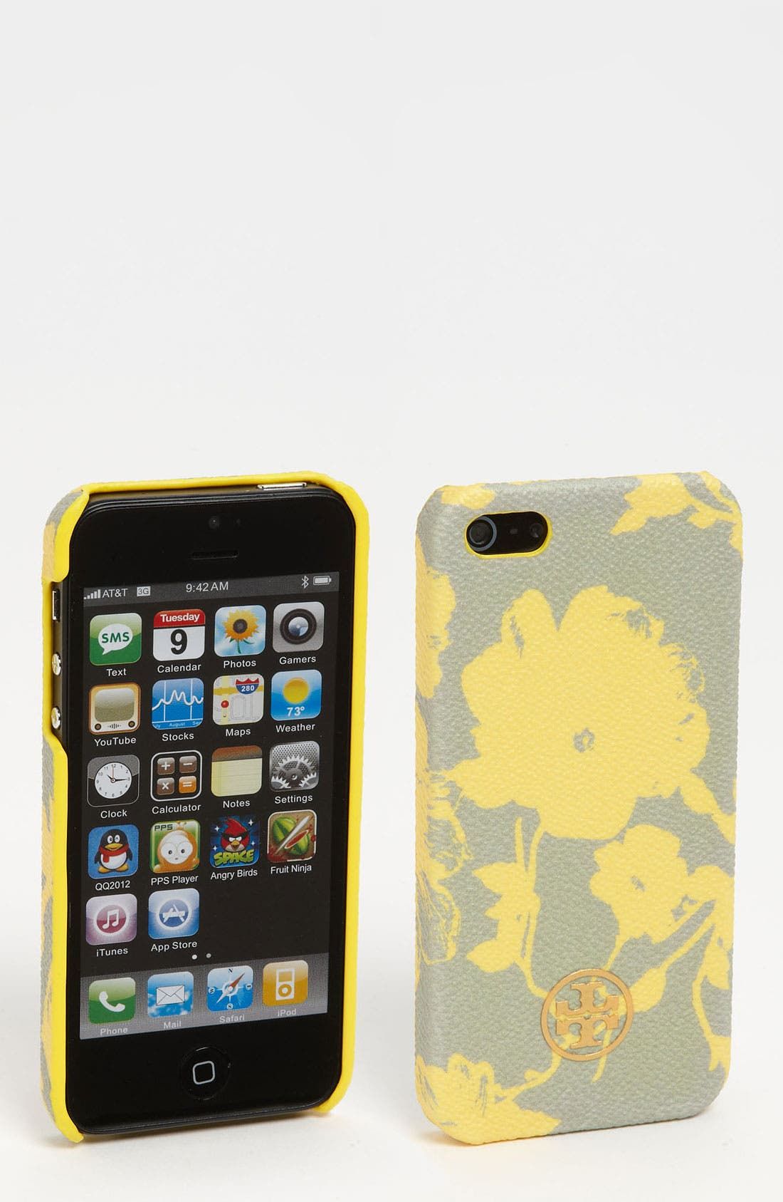 Alternate Image 1 Selected - Tory Burch 'Robinson' Print iPhone 5 Case