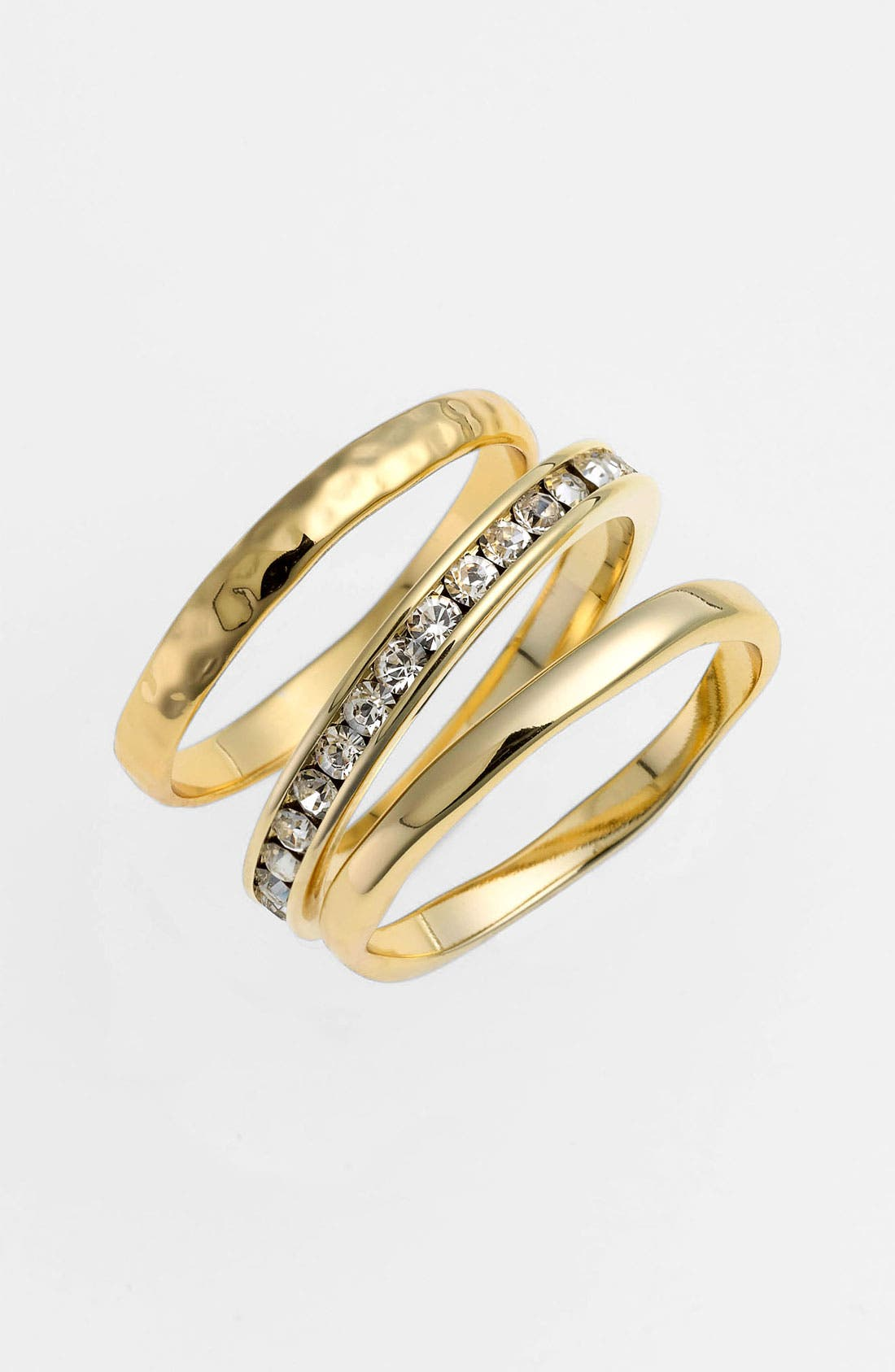 Alternate Image 1 Selected - Ariella Collection Stackable Rings (Set of 3) (Nordstrom Exclusive)