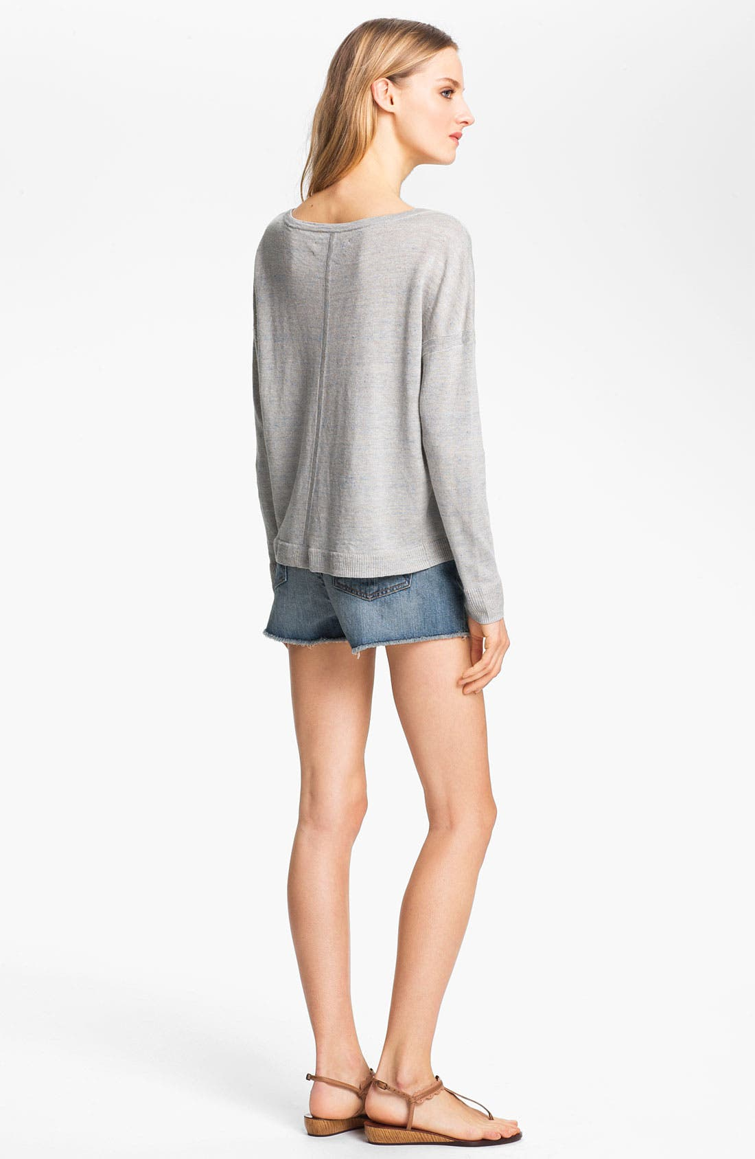 Alternate Image 4  - rag & bone 'Sander' Linen Pullover