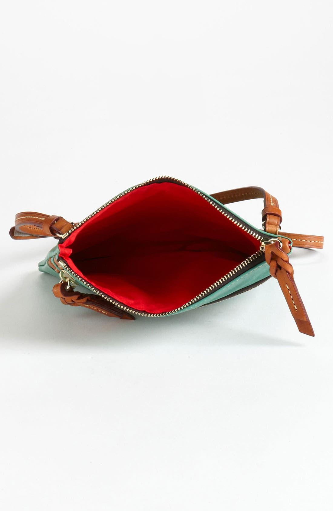 Alternate Image 3  - Dooney & Bourke Triple Zip Leather Crossbody Bag