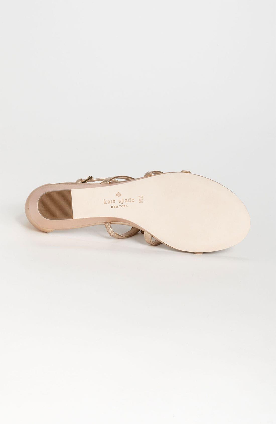 Alternate Image 4  - kate spade new york 'vikki' sandal