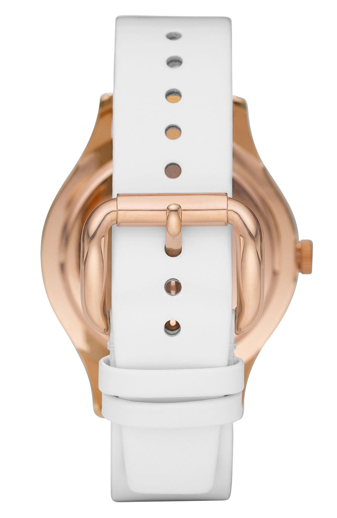 Alternate Image 3  - MARC BY MARC JACOBS Patent Strap Oversized Watch