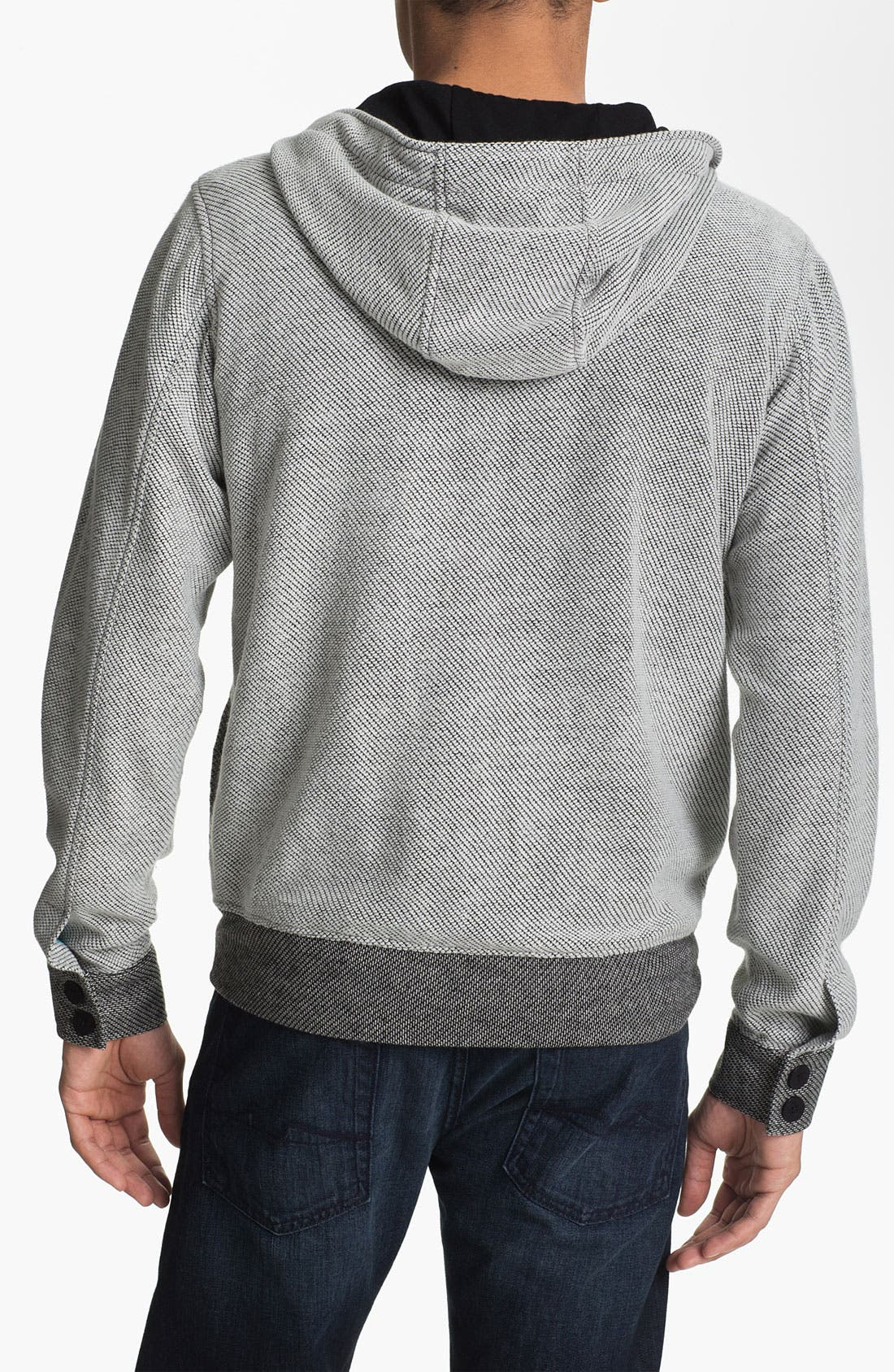 Alternate Image 2  - Kane & Unke Hooded Knit Jacket