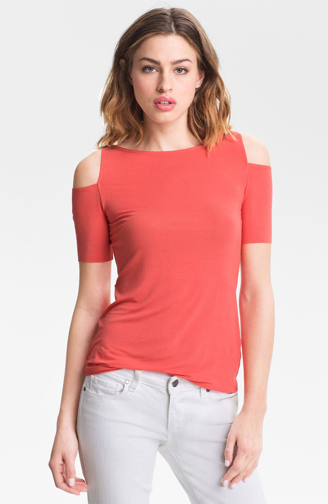 Alternate Image 1 Selected - Bailey 44 'Toledo' Cutout Shoulder Top