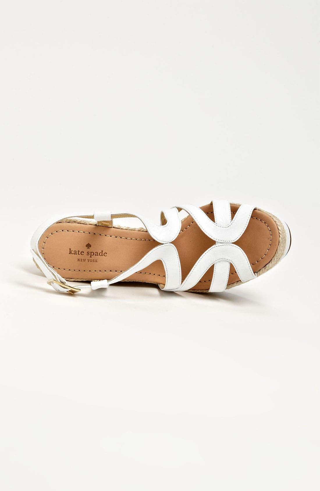 Alternate Image 3  - kate spade new york 'liv' wedge sandal