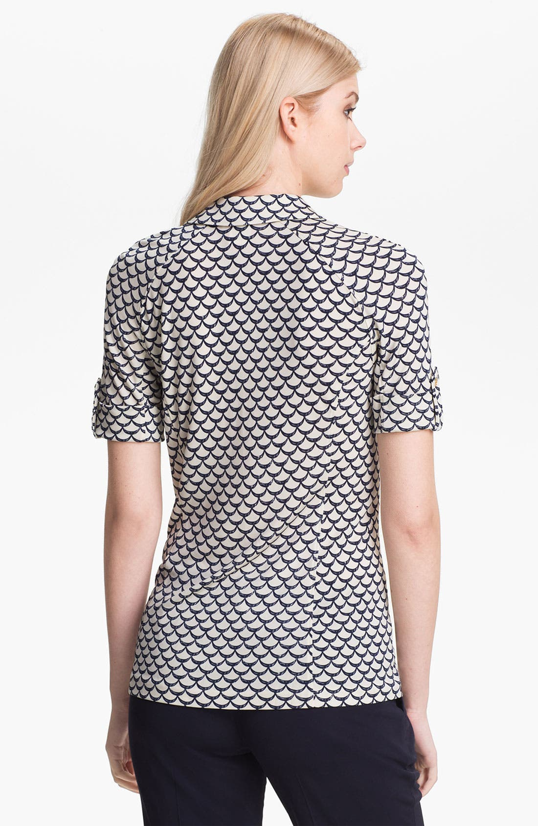 Alternate Image 2  - Tory Burch 'Kyra' Print Polo
