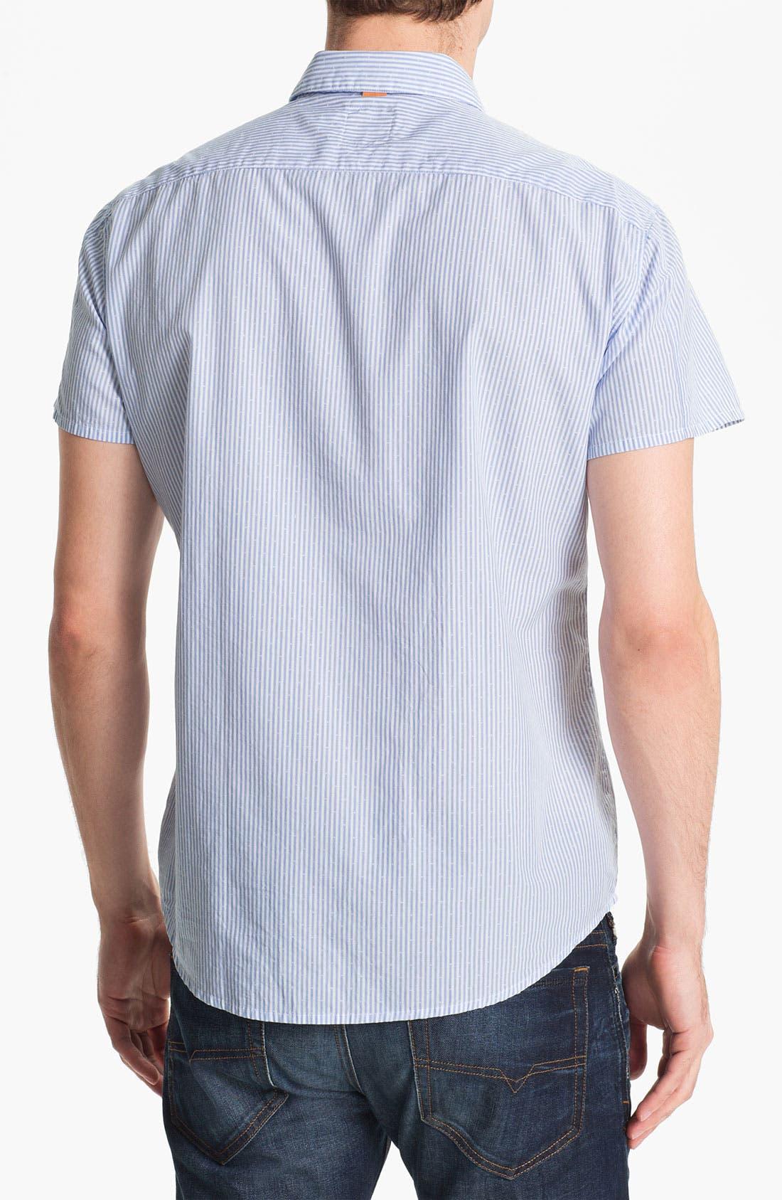 Alternate Image 2  - BOSS Orange 'Casoe' Stripe Woven Shirt