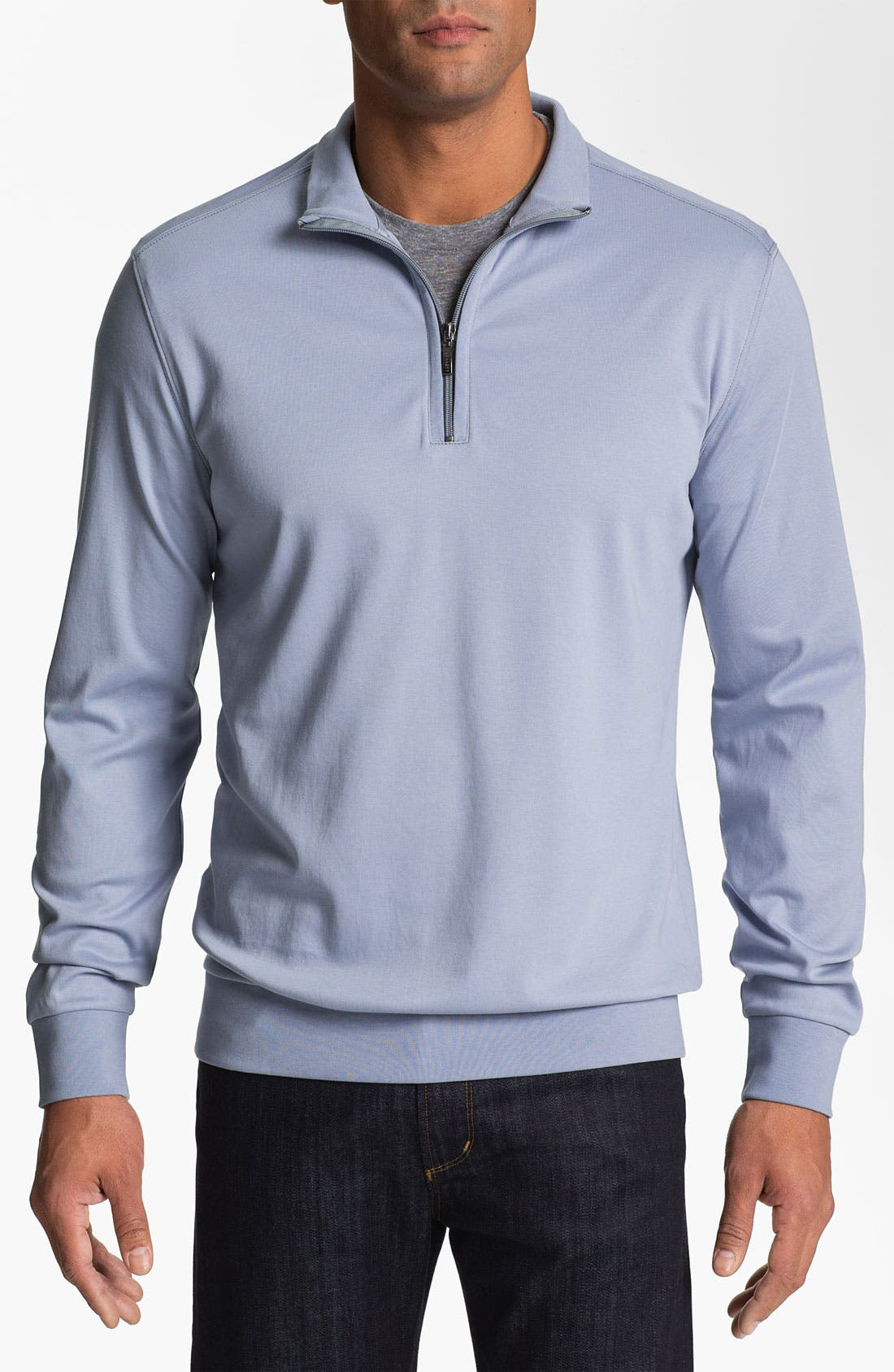 Alternate Image 1 Selected - Robert Barakett 'Georgia' Half Zip Sweater
