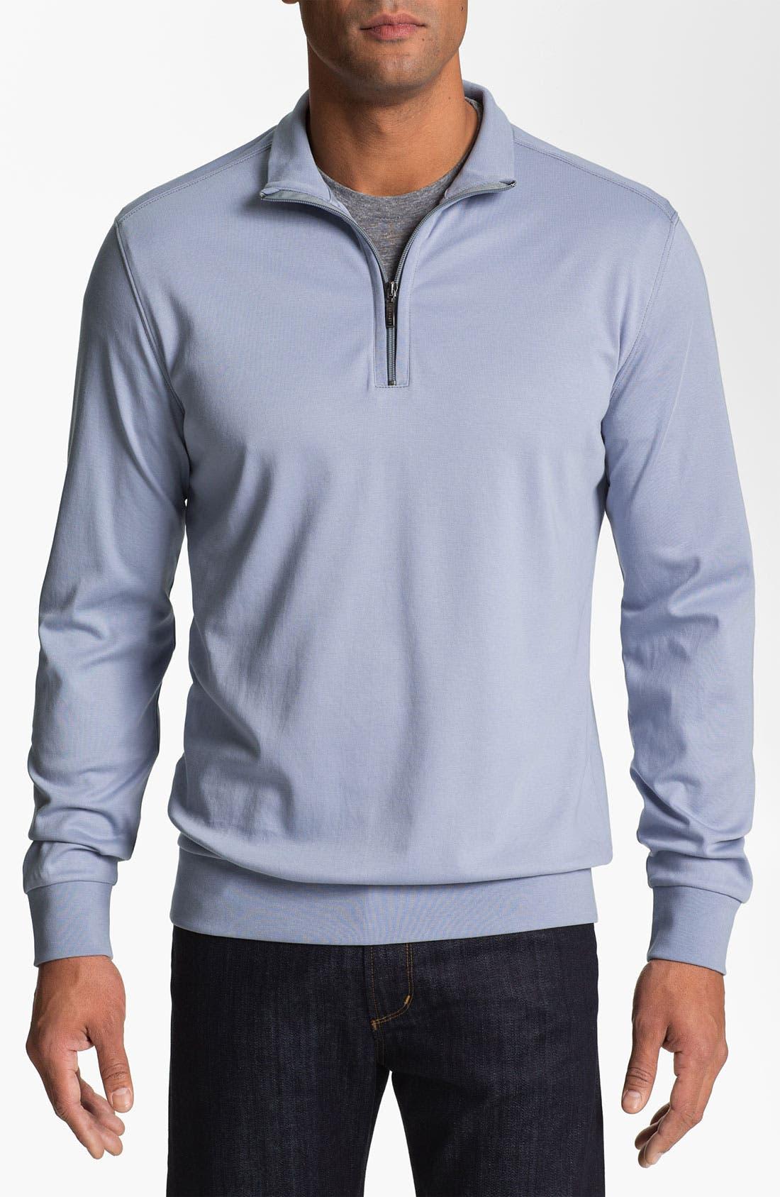 Main Image - Robert Barakett 'Georgia' Half Zip Sweater