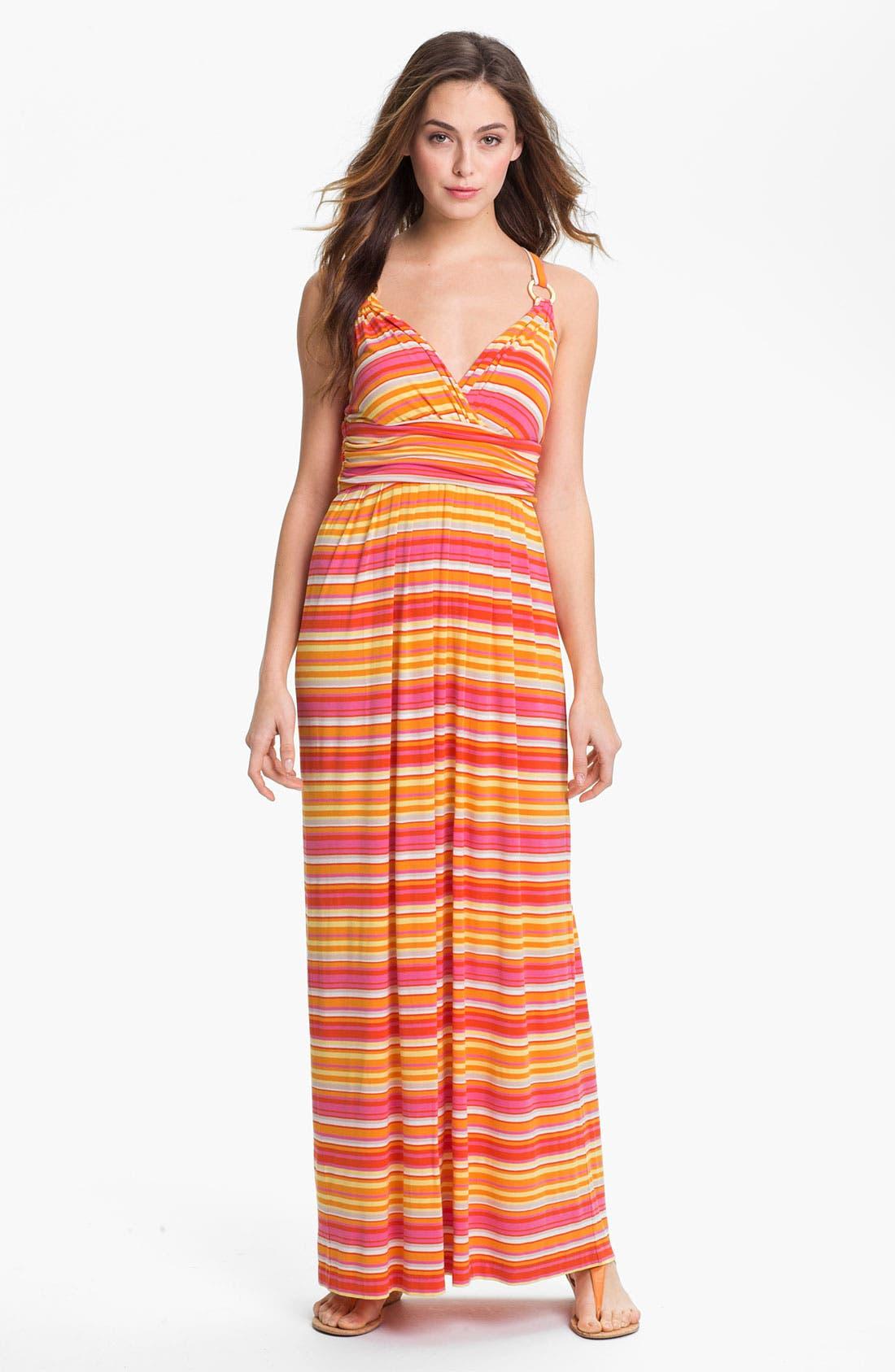 Alternate Image 1  - Vince Camuto 'Sun Streaked Stripe' Maxi Dress