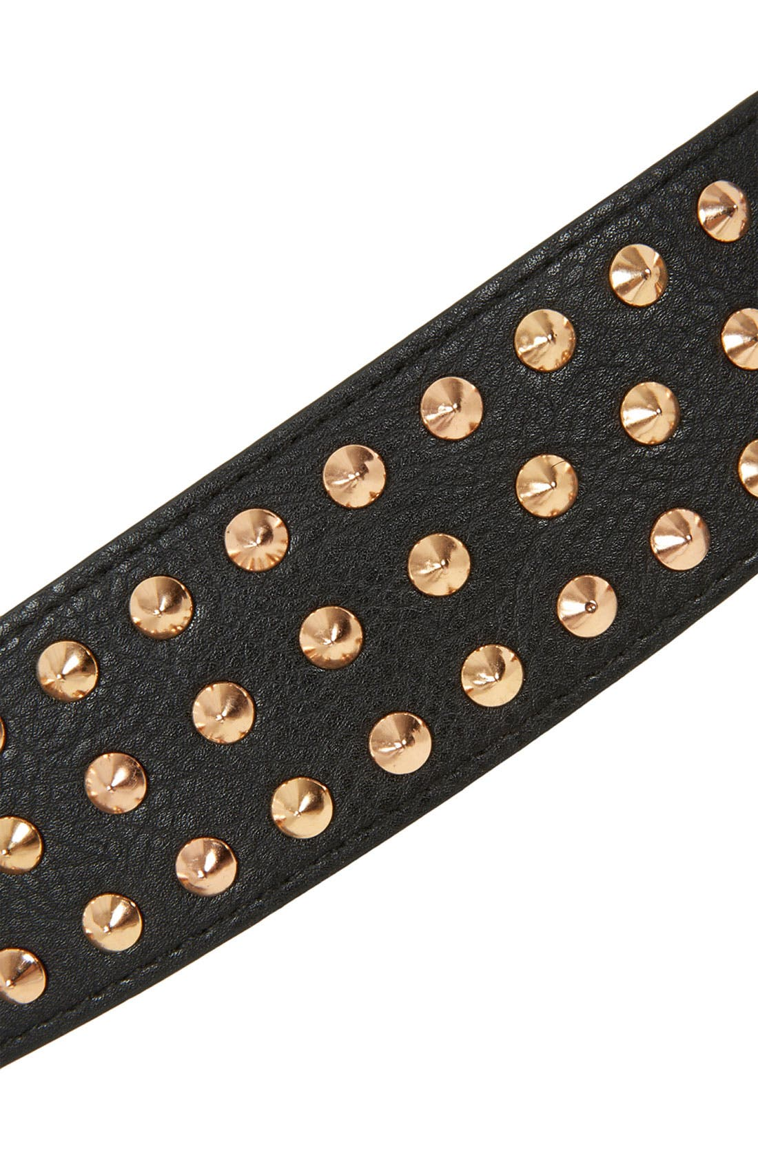 Alternate Image 3  - Topshop Studded Belt