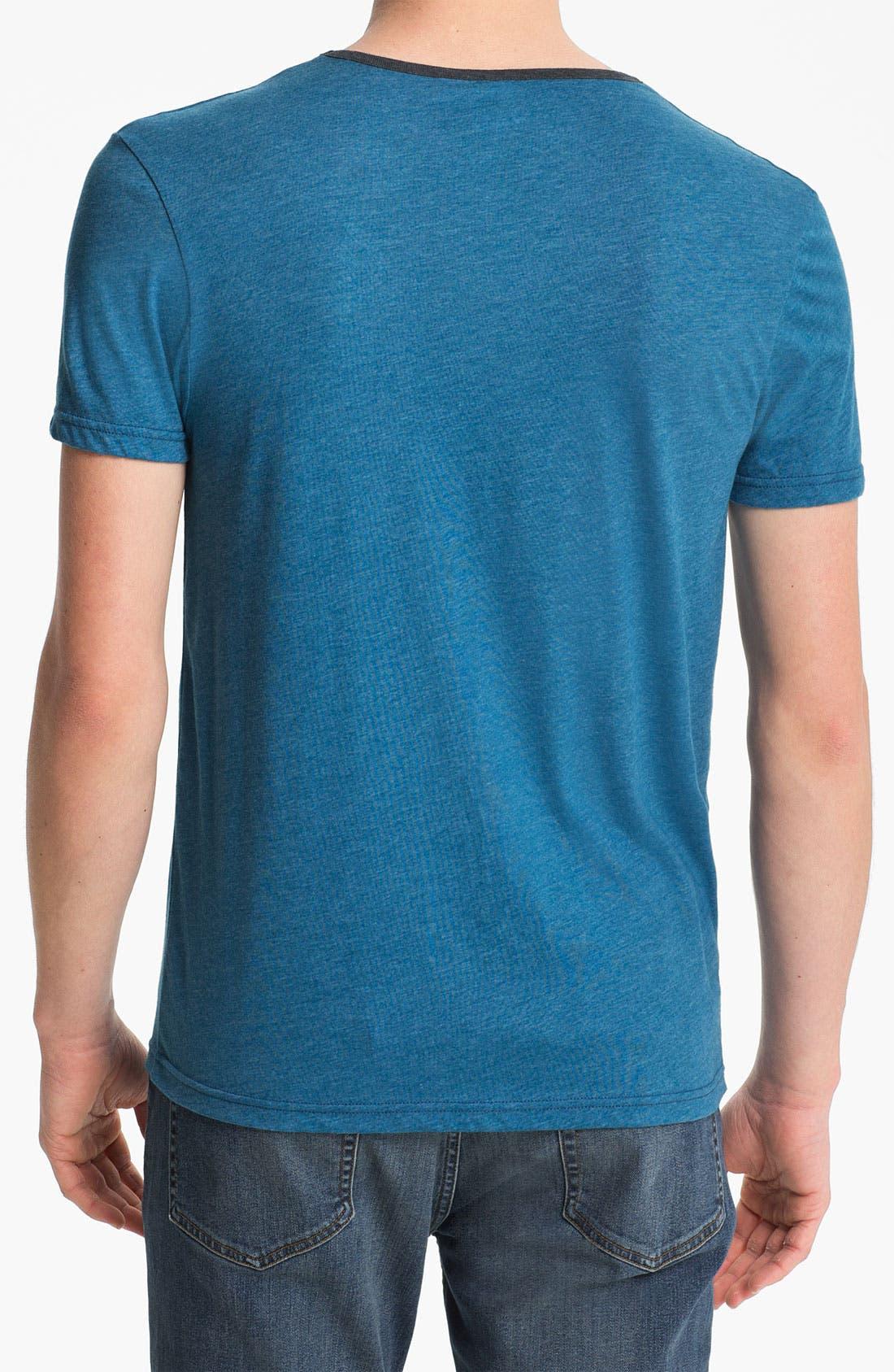 Alternate Image 2  - Topman Marled T-Shirt