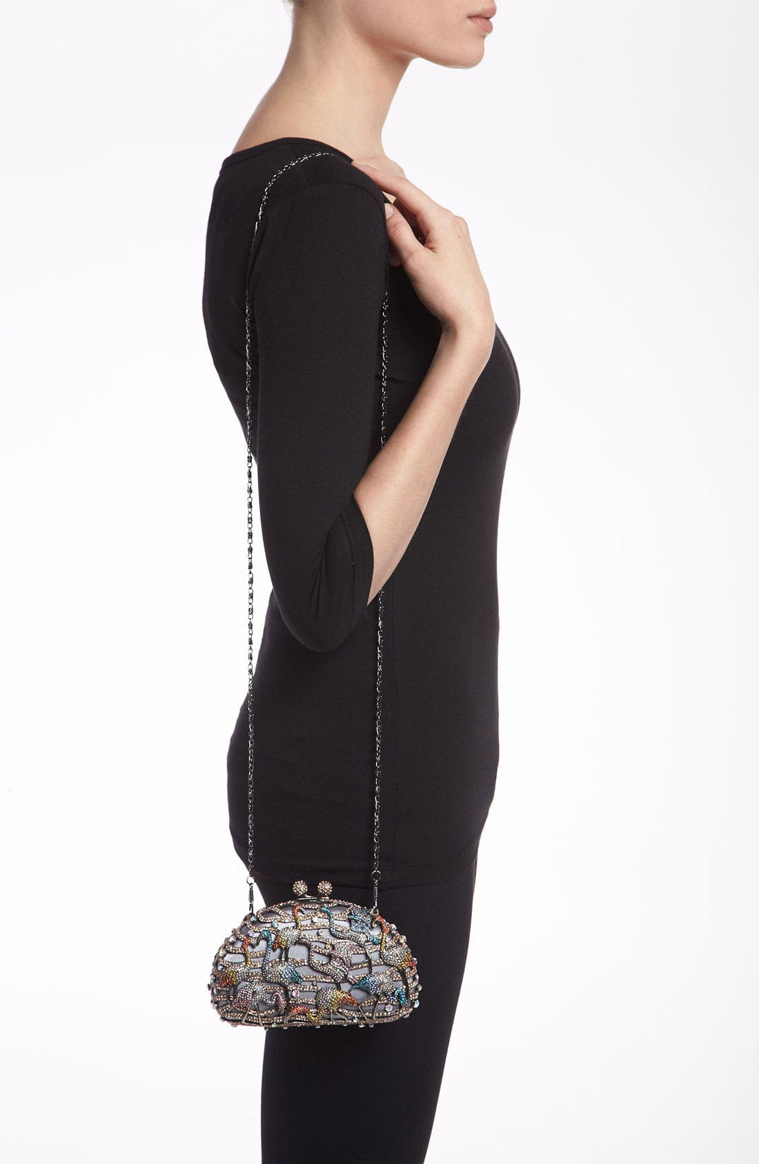 Alternate Image 2  - Natasha Couture Flamingo Clutch