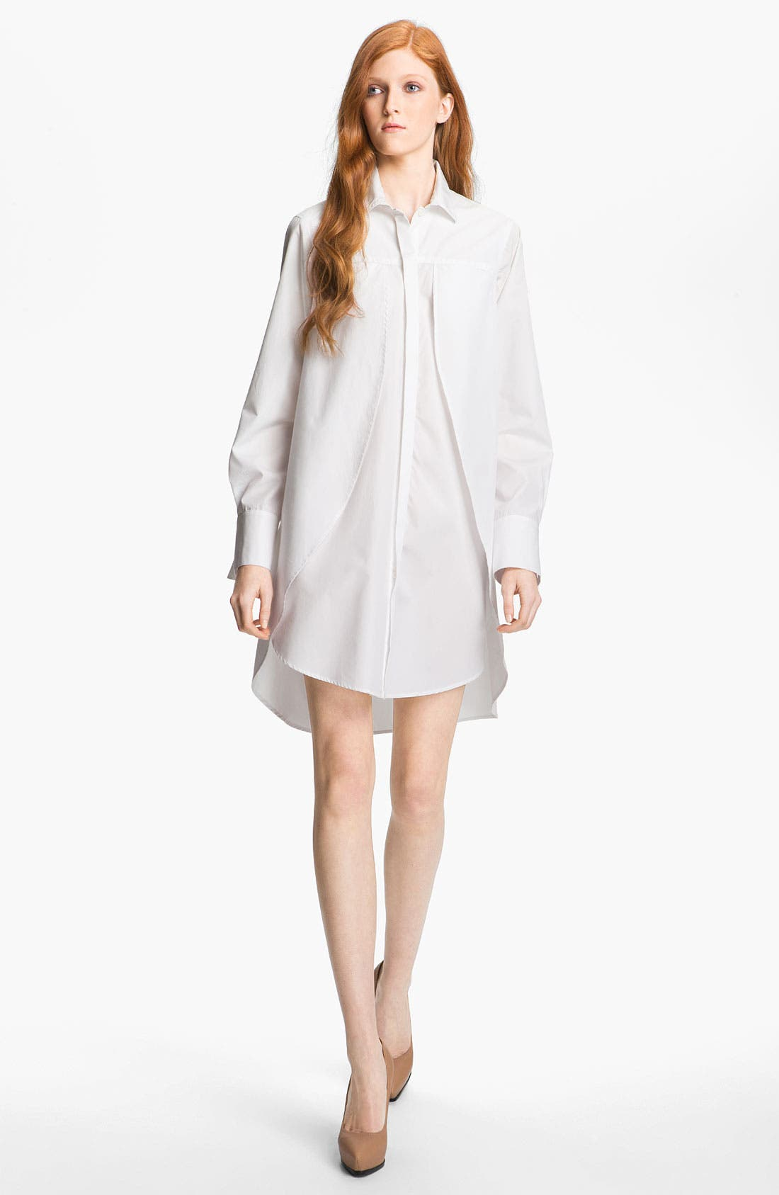 Alternate Image 2  - Halston Heritage Belted Shirtdress