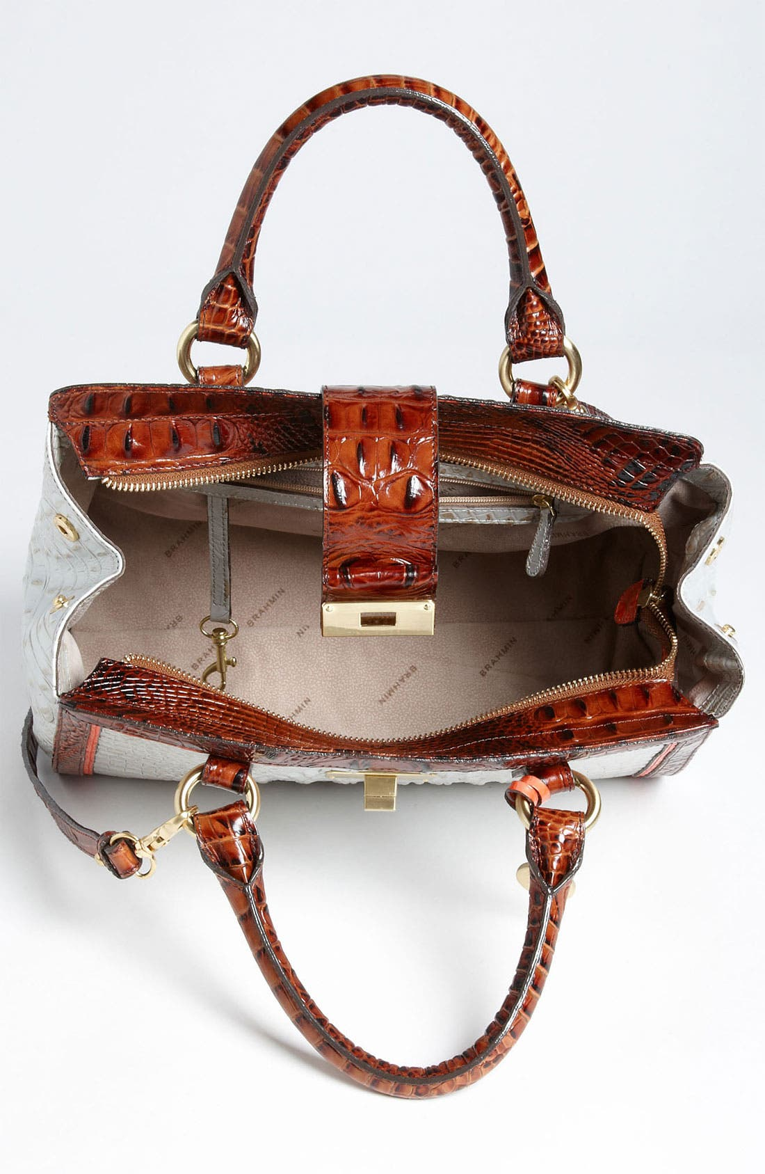 Alternate Image 3  - Brahmin 'Tri Color Annabelle' Handbag