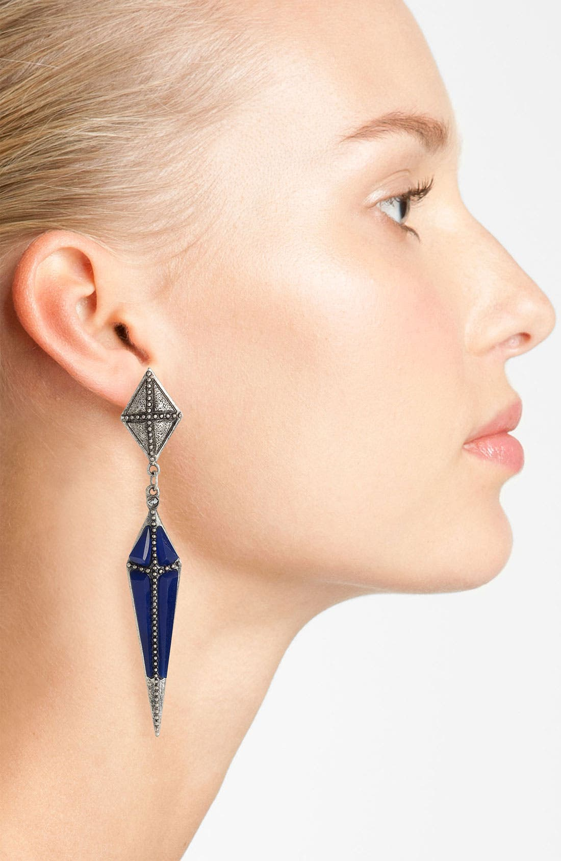 Alternate Image 2  - Guinevere Dagger Drop Earrings