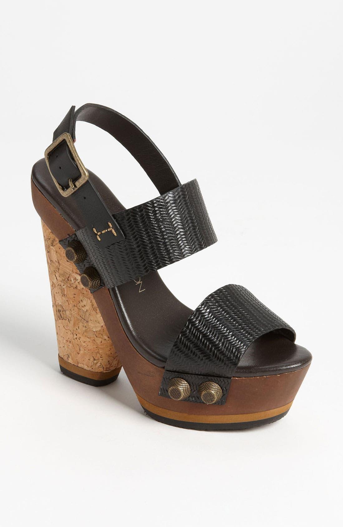 Alternate Image 1 Selected - Blonde Ambition 'Nubia' Sandal
