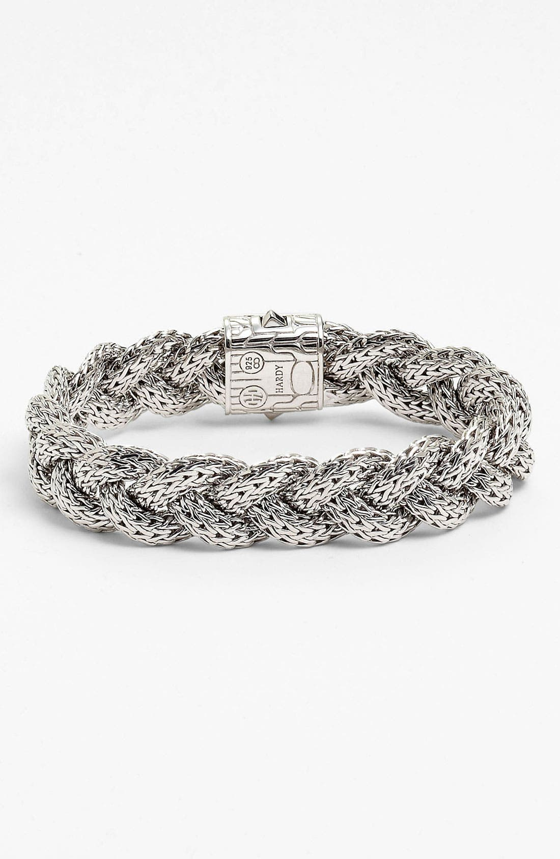 Alternate Image 2  - John Hardy 'Classic Chain' Medium Braided Bracelet