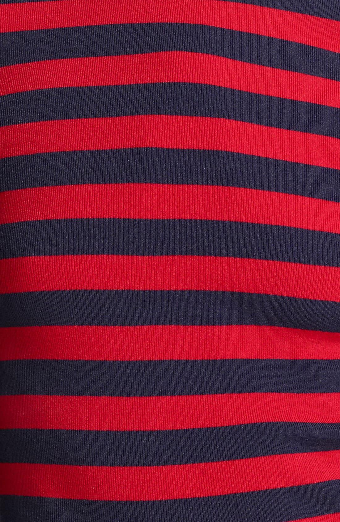 Alternate Image 4  - Michael Kors Stripe Matte Jersey Top