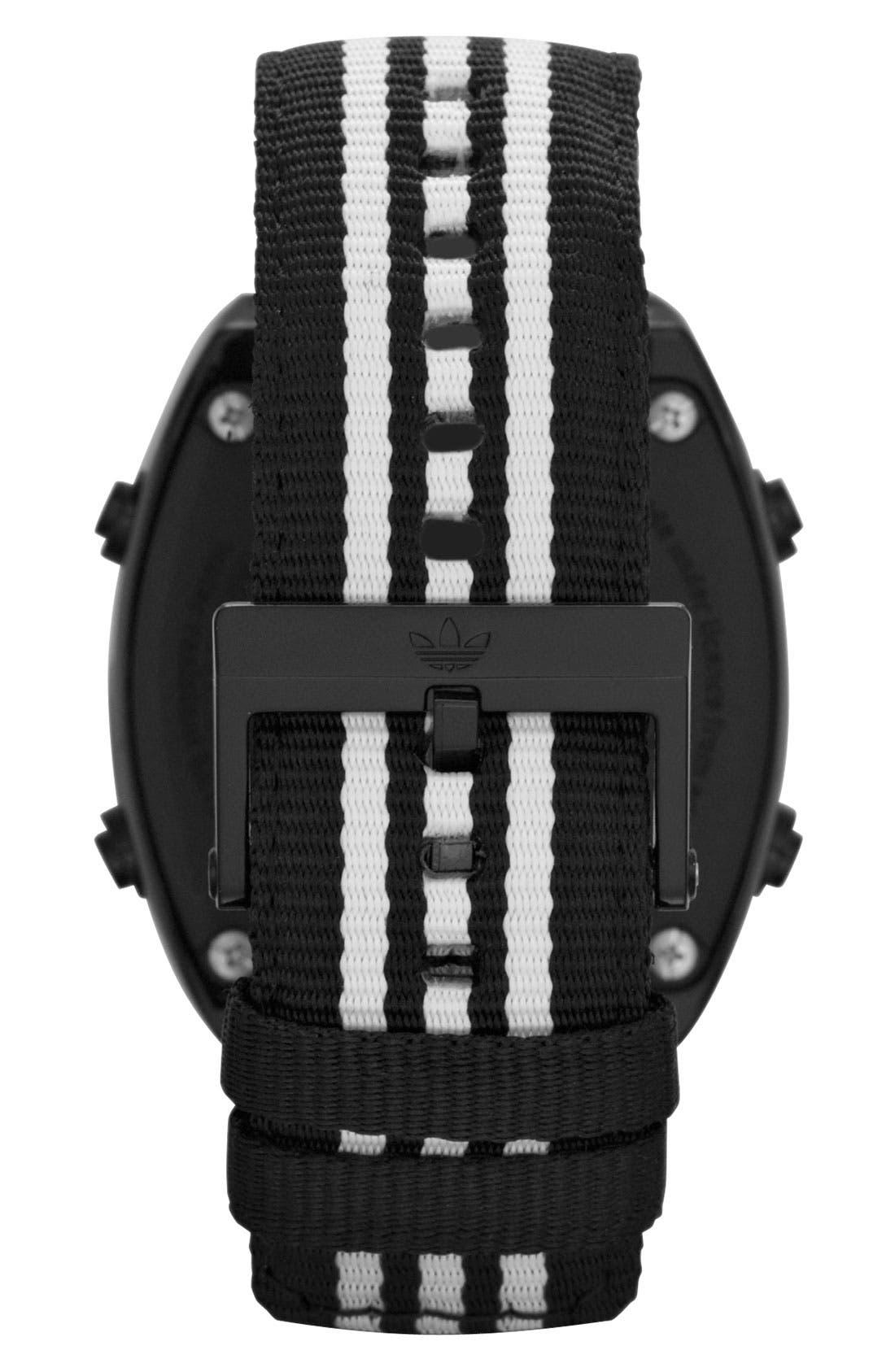 Alternate Image 3  - adidas Originals 'Sydney' Digital Nylon Strap Watch