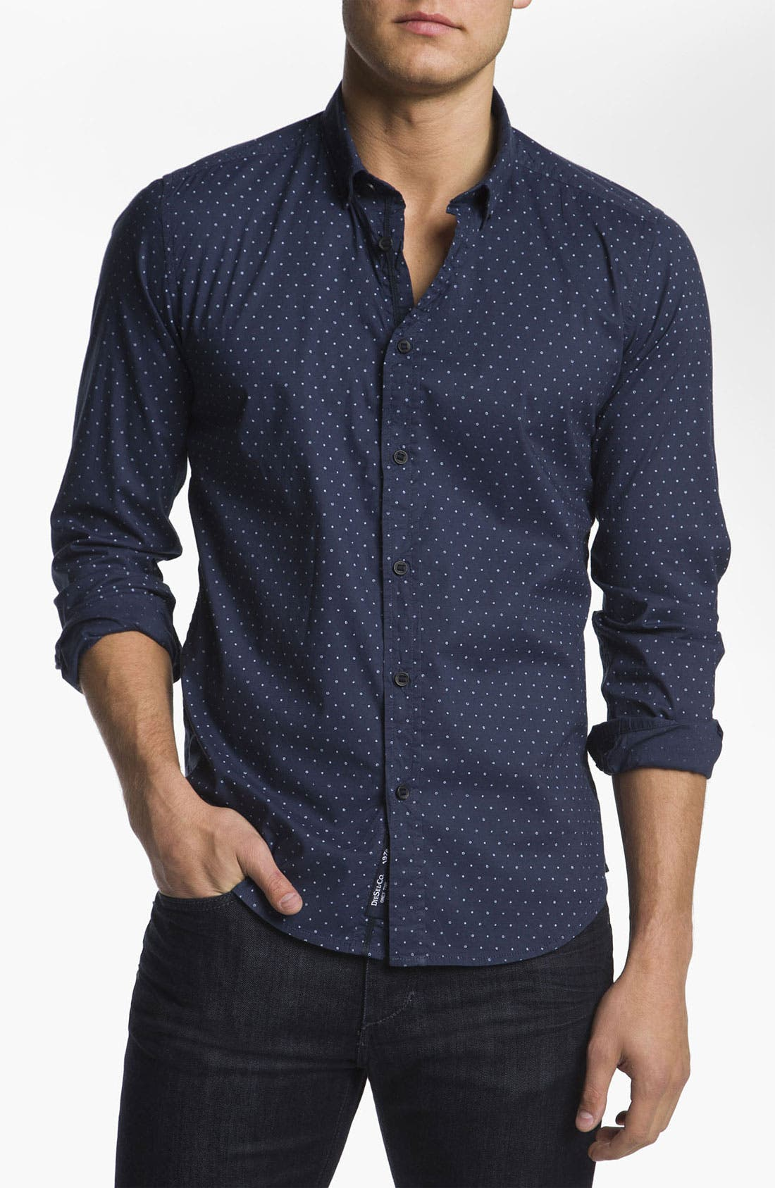 Alternate Image 1 Selected - DIESEL® 'Stephany-S' Sport Shirt