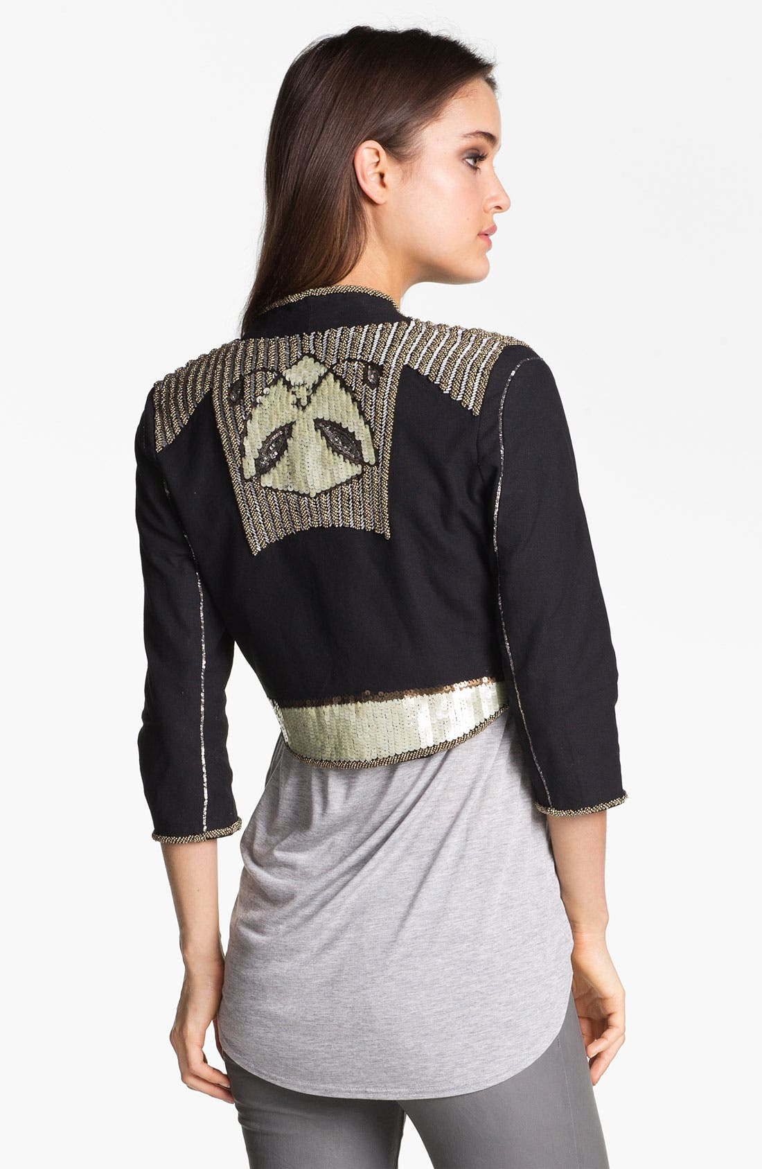 Alternate Image 2  - ELEVENPARIS 'Dali' Embellished Jacket