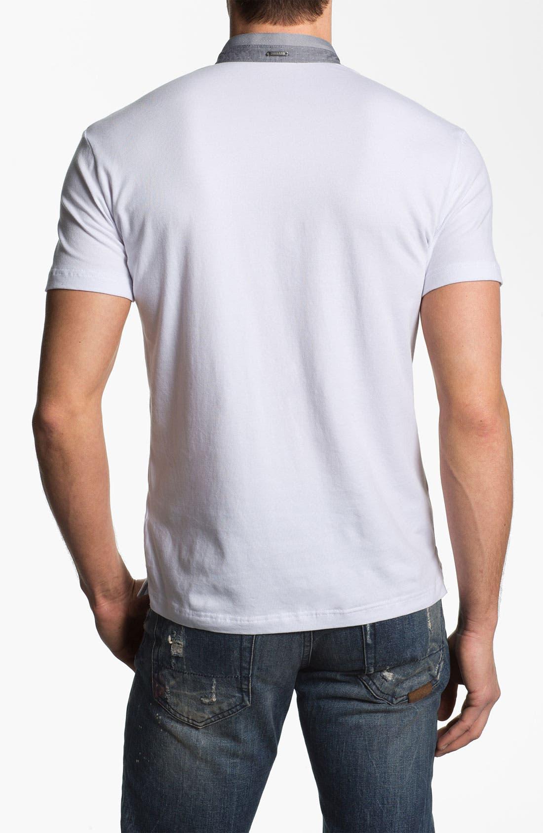 Alternate Image 2  - Antony Morato Banded Collar Polo
