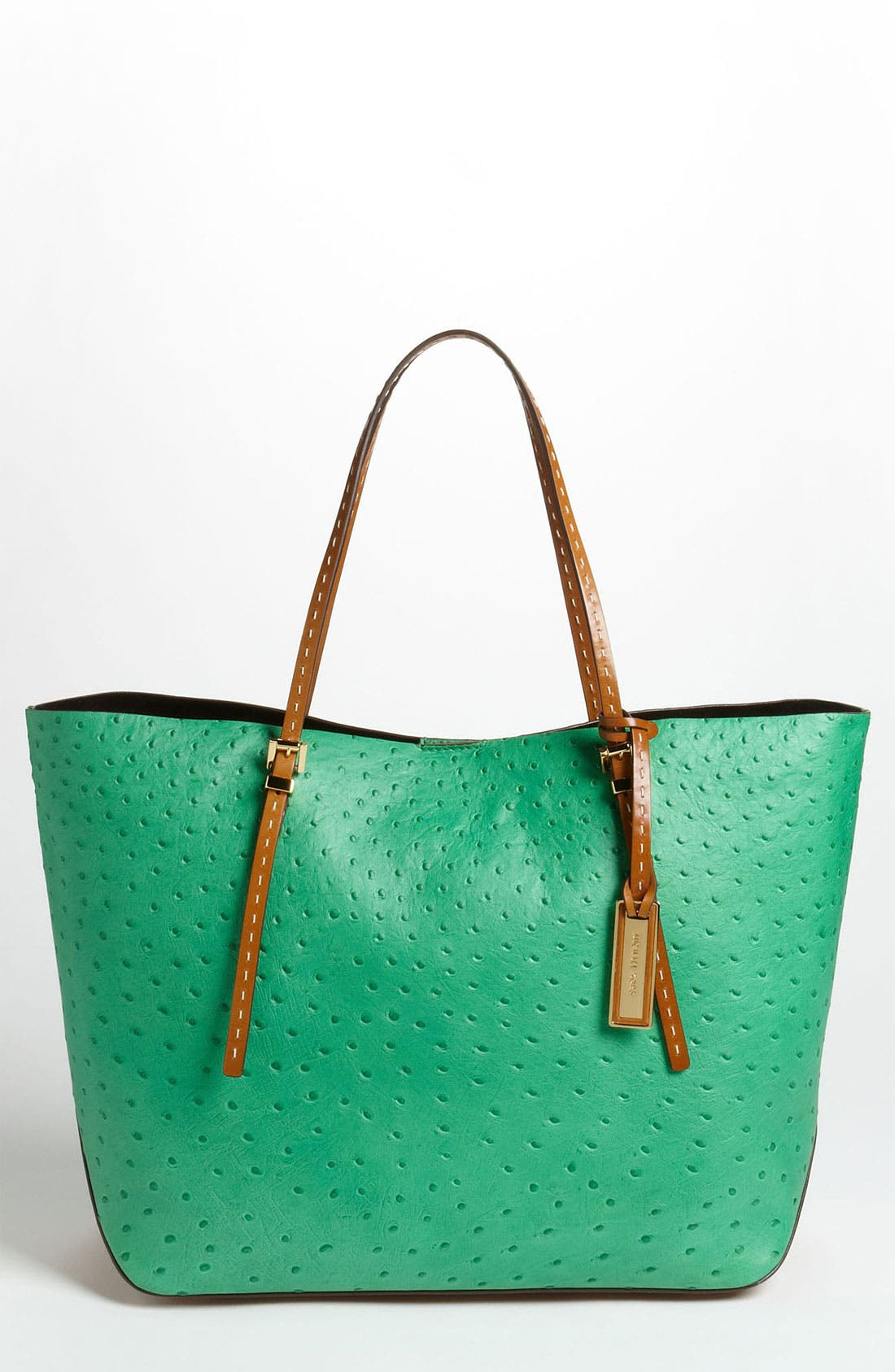 Alternate Image 1 Selected - Michael Kors 'Gia' Ostrich Embossed Tote