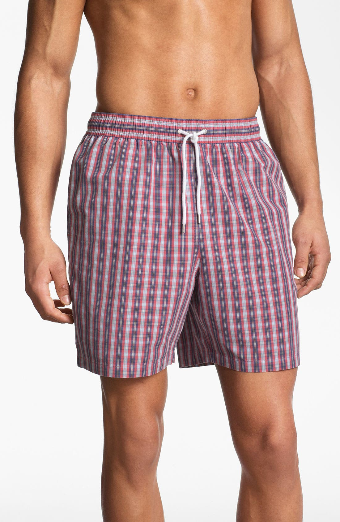 Alternate Image 1 Selected - Brooks Brothers Swim Trunks